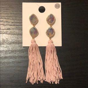 SUGAR FIX by BaubleBar Gem and tassel earrings
